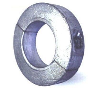 Zinkanod för axel ø 25 mm smal modell