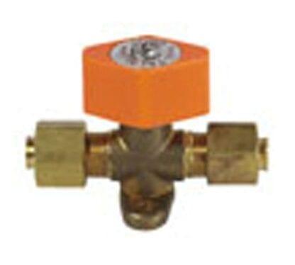 Avstängningsventil gasolrör