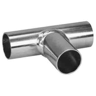 T-rör galvaniserat stål ø 22 mm