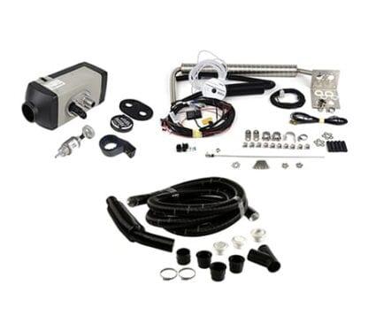 Webasto AirTop 2000STC 12V/2kW inklusive monteringssats och slangsats