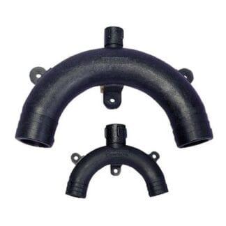 Ventilerad böj slang ø 38 mm