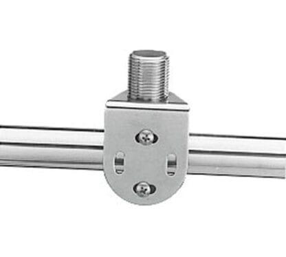 Antennfäste för pulpitrör 22-25 mm rostfritt