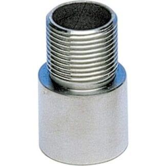 Antennfäste i rostfritt för rör med ø 25 mm