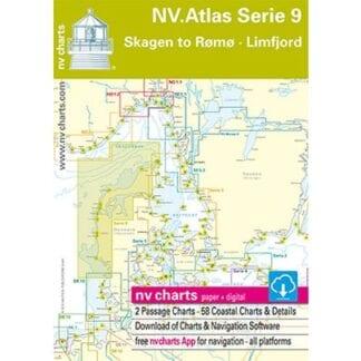 NV. Verlag Atlas båtsportkort serie 9 utgåva 2017/18