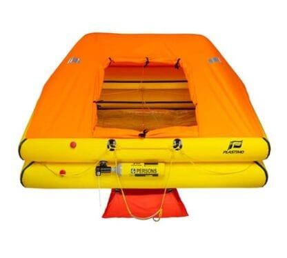 Livflotte Plastimo Cruiser ORC för 6 personer förpackad i container