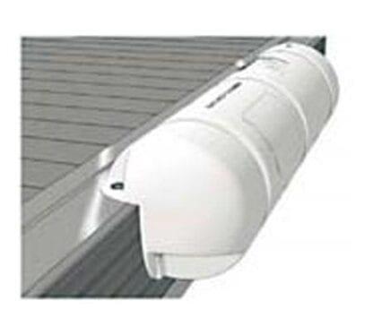 Bumper Plastimo ¾ rund vit 18 x 40 cm