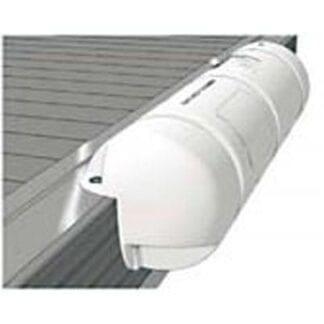 Bumper Plastimo ¾ rund vit 25 x 90 cm