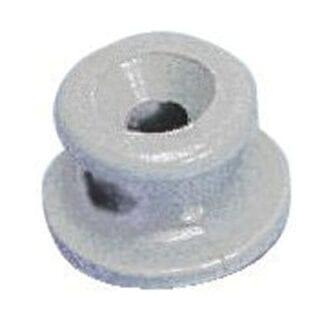 Kapellfäste grå plast