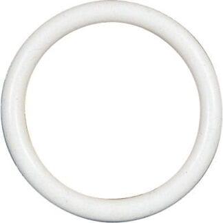 Gummiring för kapell 4-pack, vit