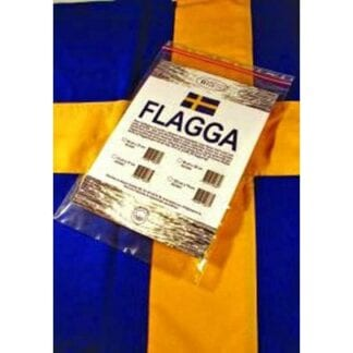 Nationsflagga Sverige