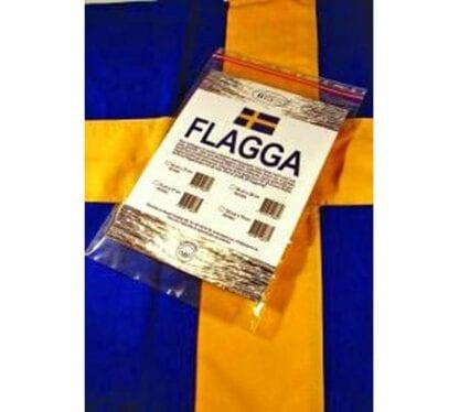 Nationsflagga Sverige