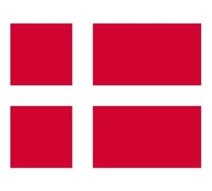 Gästflagga Danmark 30 x 20 cm