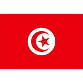 Gästflagga Tunisien 45x30cm