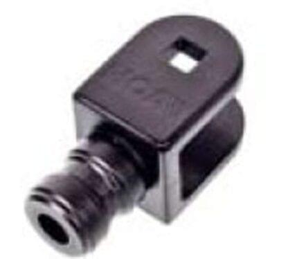 Gaffeländbeslag 25mm NOA
