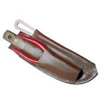 Sjömanskniv i läderhölster