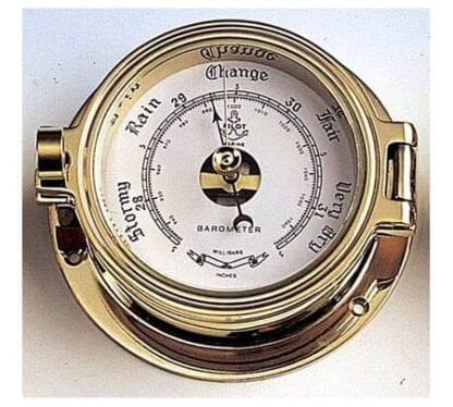 Barometer mässing 85mm