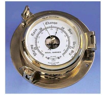 """Barometer 5"""" Pilot mässing"""