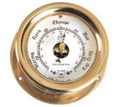 Barometer krom ø 107mm ES Sörensen