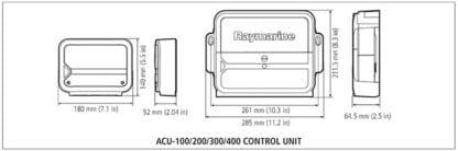 Raymarine EV-100 Tiller med kontrollenhet p70s