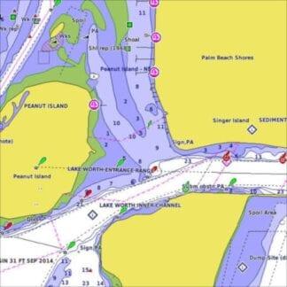 Elektroniska sjökort