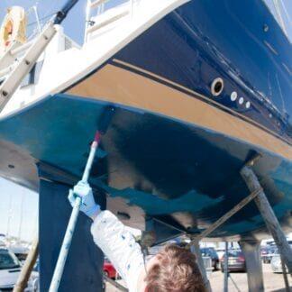 Färg & båtvård
